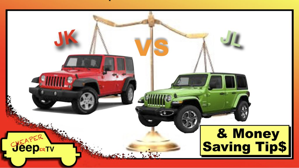 Episode 2 Thumbnail: Jeep Wrangler JK vs JL