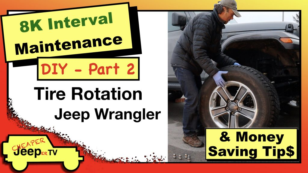 Jeep Wrangler JL DIY Tire Rotation Thumbnail