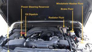 Jeep Wrangler Fluids to Inspect