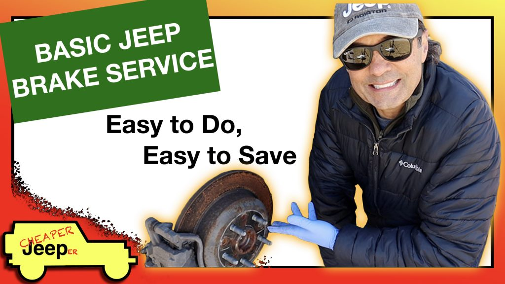 Jeep Basic Brake Service Thumbnail