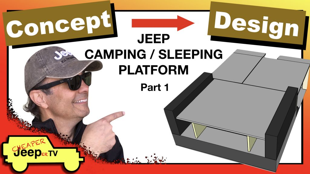 Jeep Camping Sleeping Platform