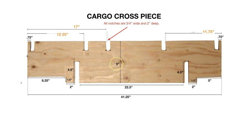 Cargo Area Cross Piece