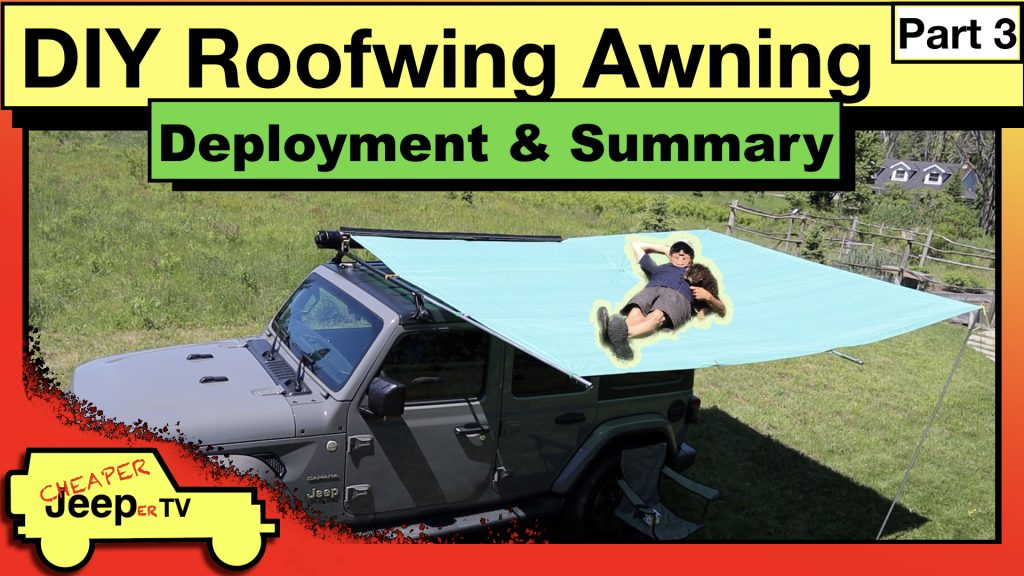 DIY Roofwing Awning Deployment