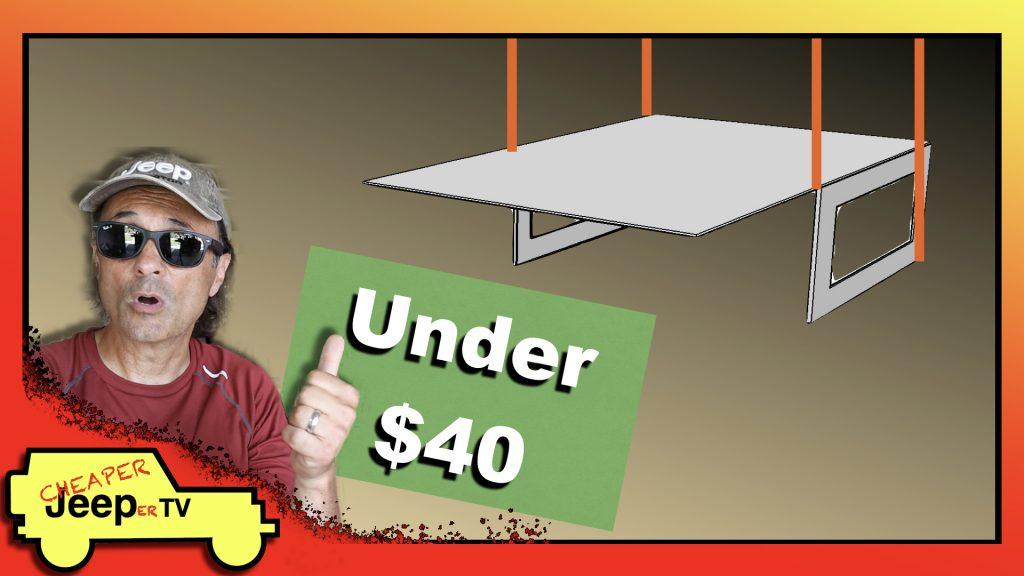 Inexpensive Hard Top Hoist