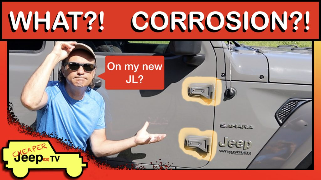 Jeep Wrangler JL Corrosion