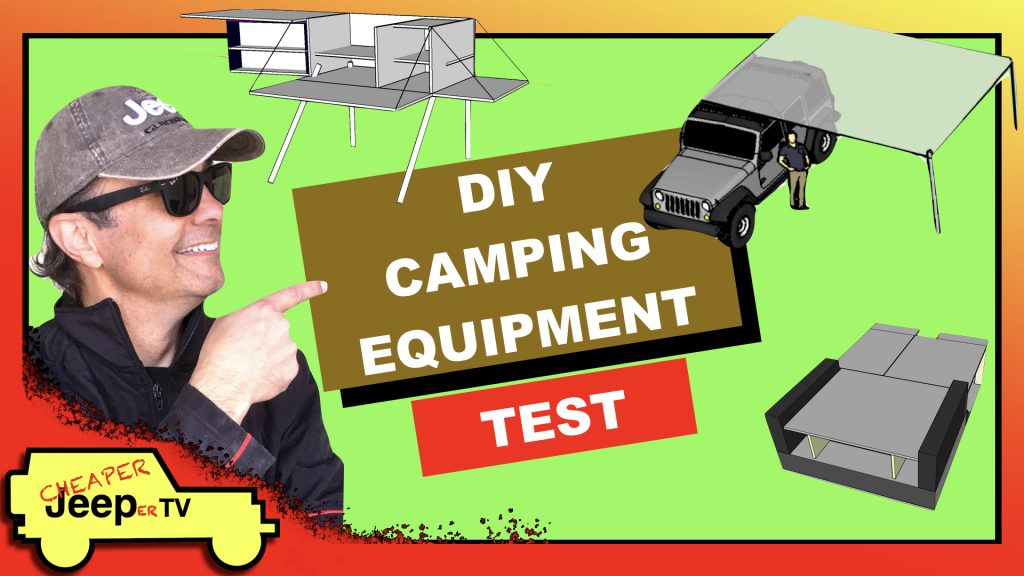 DIY Camping Equipment Test