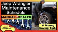 Jeep Wrangler Maintenance Thumbnail