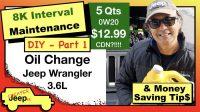 DIY Oil Change For Jeep Wrangler JL Thumbnail