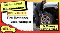 Jeep Wrangler JL DIY Tire Rotation Thumbnail