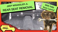 Wrangler JL Rear Seat Removal