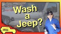 Wash a Jeep